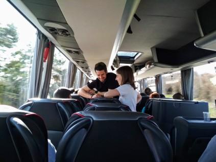 cesta tam autobus
